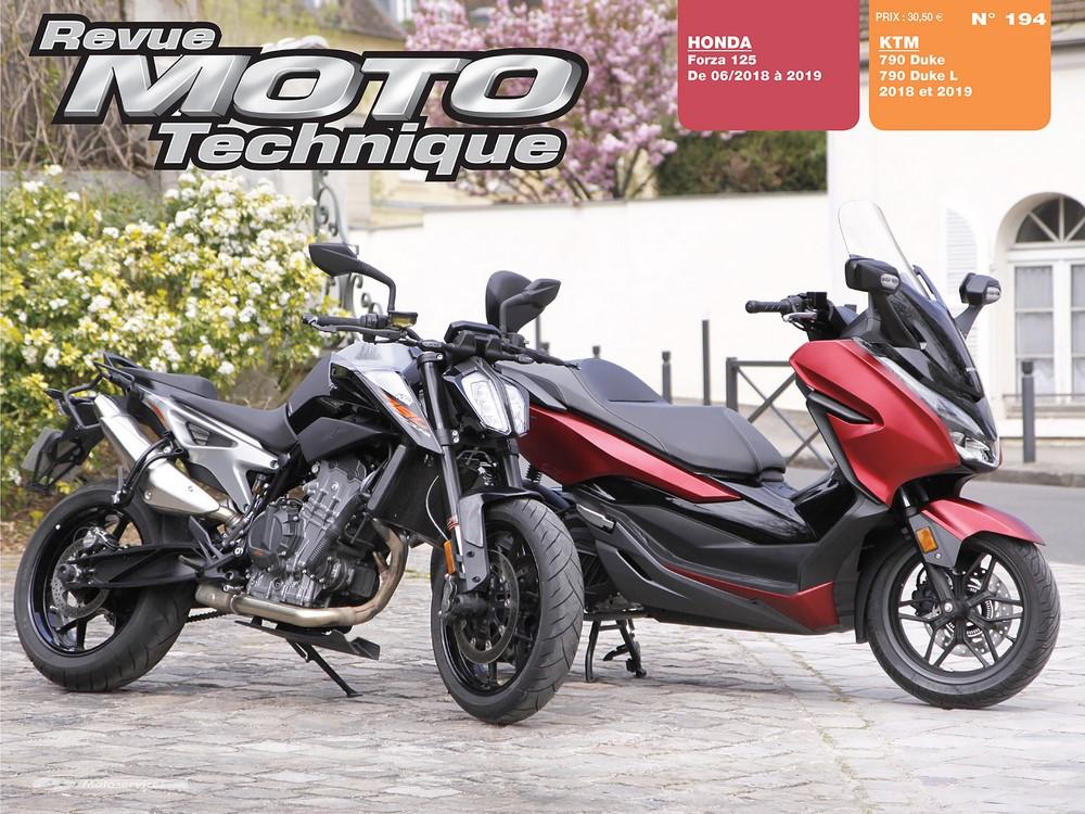 RMT 194 : Honda Forza 125