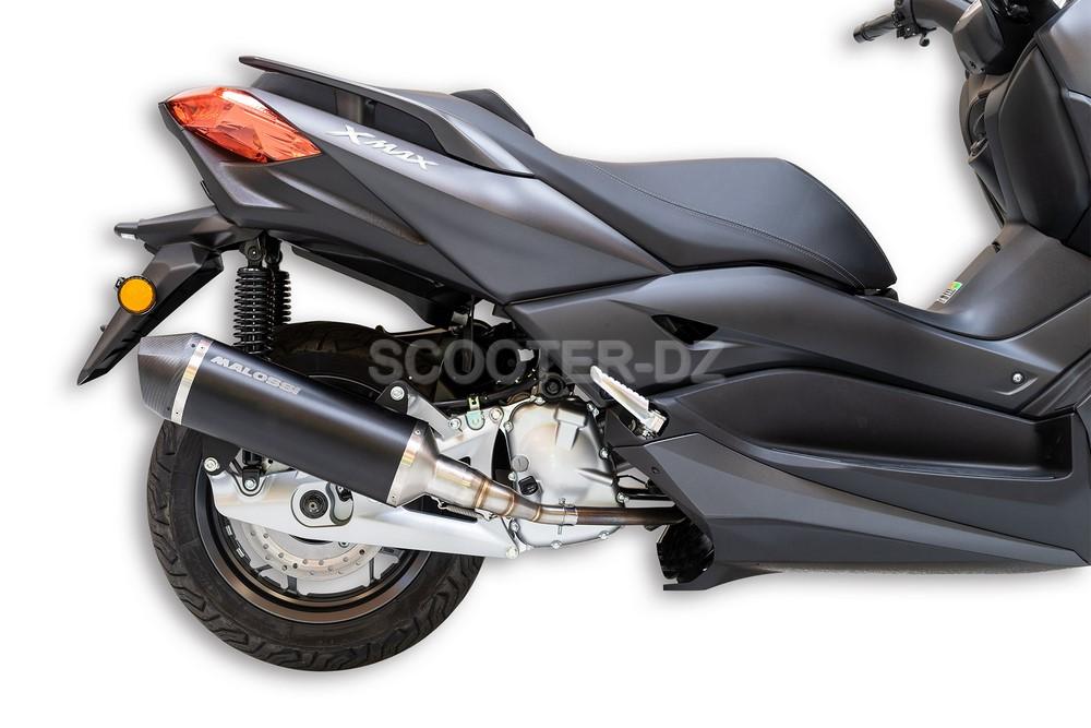 Pot d'échappement Malossi RX Exhaust Black pour YAMAHA XMAX 125/300