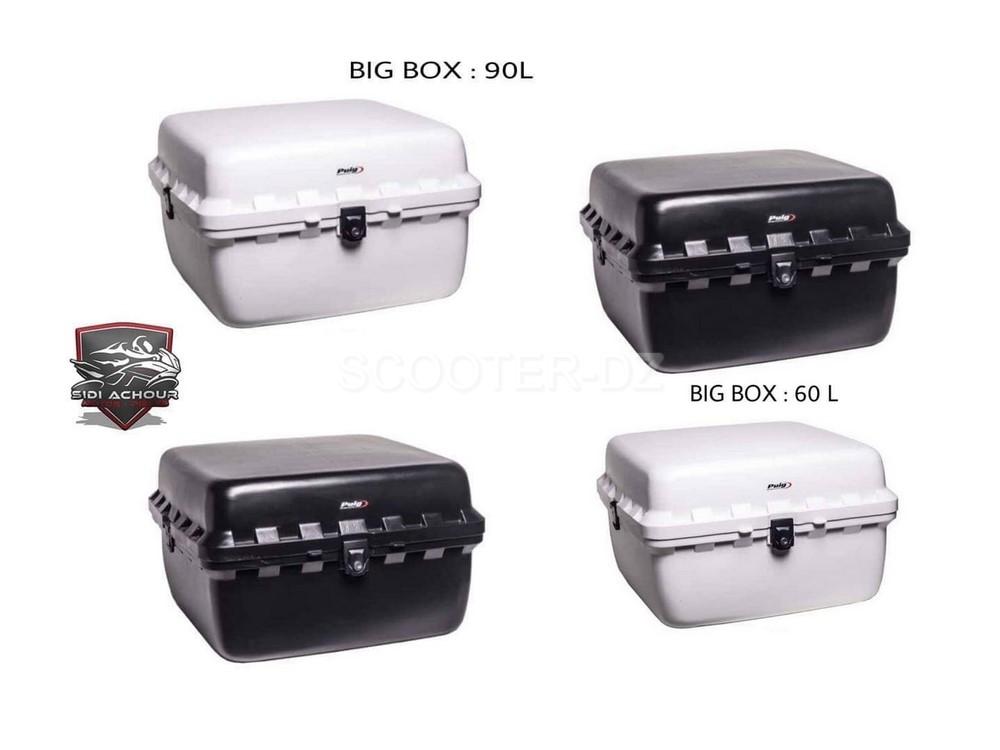 "Idée Shopping : Topcase livraison ""Puig Big Box 60/90 litres"""