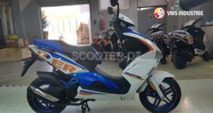 VMS Driver 150 : 2 nouveaux coloris pour ce scooter sportif !