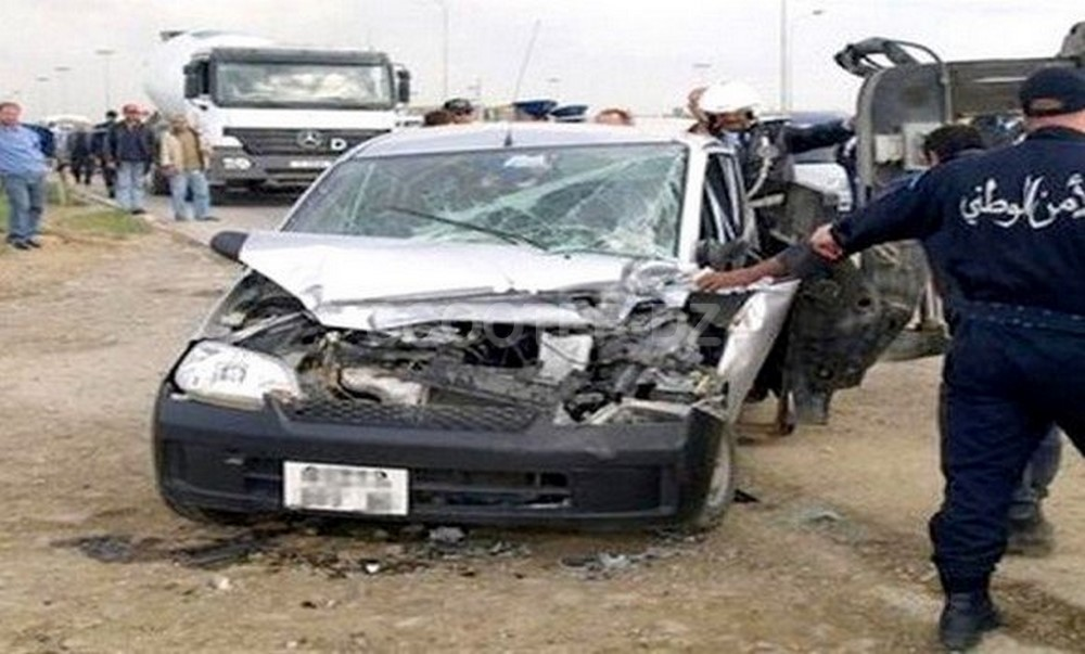 Accidents de la route : 38 personnes décédées et 1643 autres blessées en une semaine