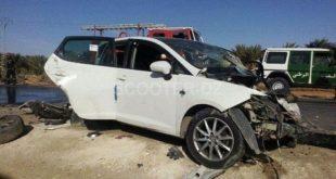 Accidents de la route : 33 morts et plus de 1.500 blessés en une semaine