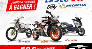 Nouveau programme de fidélité : Dafy fait gagner 2 motos et un scooter !
