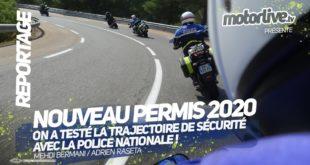 Permis moto 2020 : on a testé la trajectoire de sécurité !