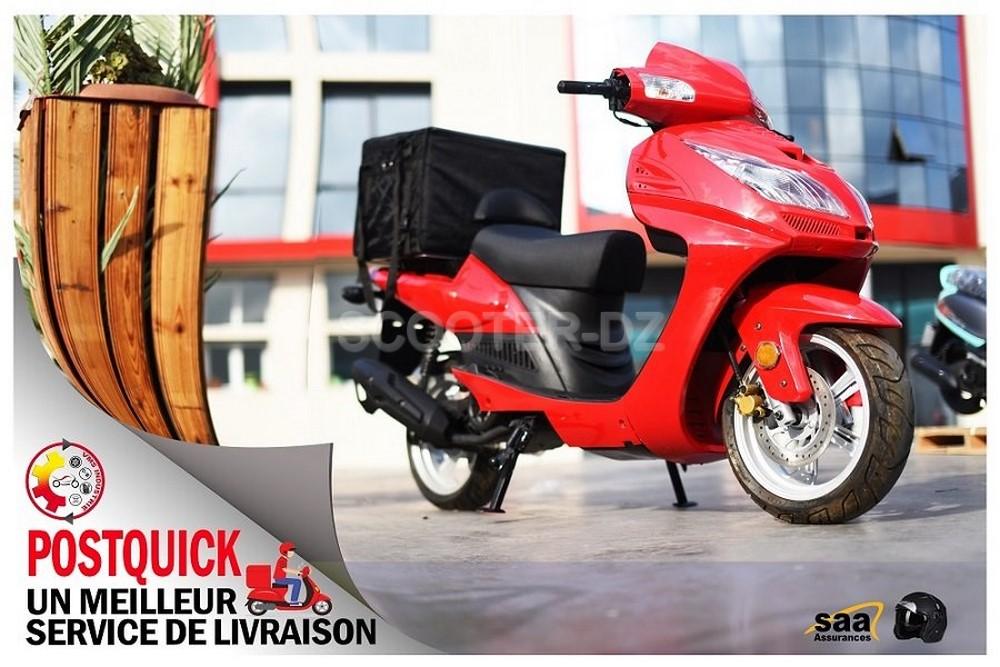 Scooter utilitaire : VMS PostQuick 125 disponible à 129.800 DZD