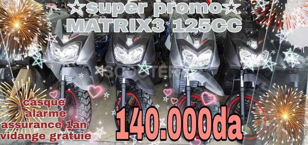 AS Motors : Matrix 125 & Roma 125 à 140.000 DZD avec LYN Motors