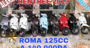 AS Motors : Matrix 125 & Roma 125 à 140.000 DZD avec LYN Motors