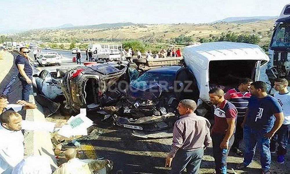 Accidents de la route : 31 morts et 1.165 blessées en une semaine