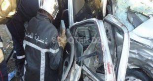 Accidents de la route : 34 morts et plus de 1.300 blessées en une semaine