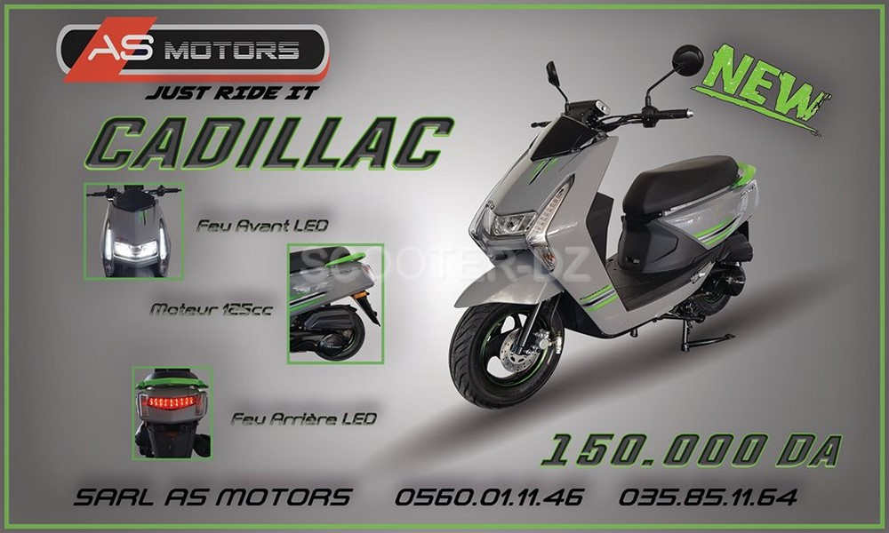 AS Motors : nouveau scooter urbain AS Motors Cadillac 125