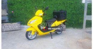 Scooter VMS utilitaire : le PostQuick 125 disponible en coloris jaune
