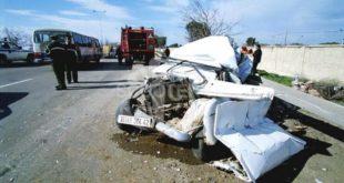 Accidents de la route : 38 morts et 954 blessés en une semaine