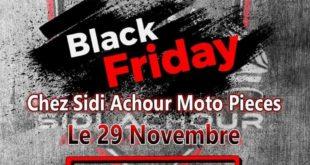 BLACK FRIDAY chez Sidi Achour Motos Pièces du 28 au 30 novembre 2019
