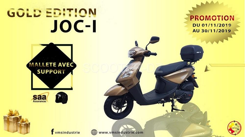 """VMS Industrie : Édition spéciale """"Gold"""" pour le VMS Joc-i 125"""