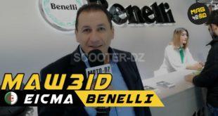 #Vidéo Eicma 2019 | Rencontre avec SAIGH Abdelkarim de Benelli Algérie