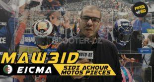 #Vidéo Eicma 2019 | Rencontre avec SIDI ACHOUR Redha de Sidi Achour Motos Pièces SARL