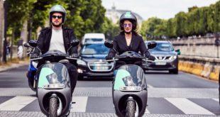 COUP, les scooters électriques partagés