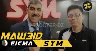 Rencontre avec HAMDI Abdelghani de SYM Algérie