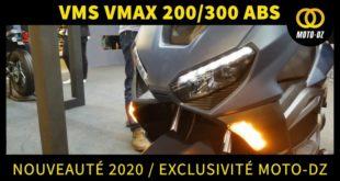 [Vidéo] EXCLUSIVE EICMA 2019 : VMS VMAX 200 / 300i ABS 2020