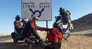Voyage Scooter 4.500 KM : de Sétif à la frontière du Niger en scooter 150 !