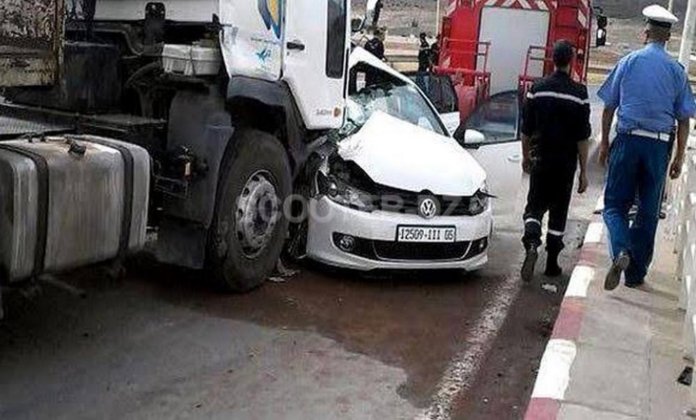 Accidents de la circulation : 38 morts et 1798 blessés en une semaine