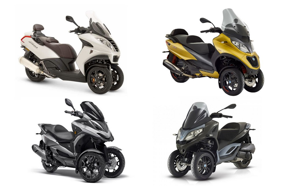 Bilan marché scooters 3-roues 2019