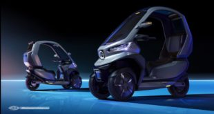 Niu TQi-GT : un trois roues électrique en préparation pour fin 2020
