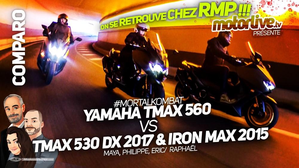 Devez-vous lâcher votre Iron Max 2015 ou votre DX 2017 pour passer au Yamaha TMAX 560 Tech MAX 2020 ?