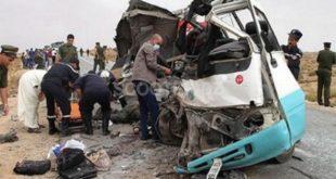 Accidents de la route : appel à redoubler d'effort dans la prévention et la sensibilisation