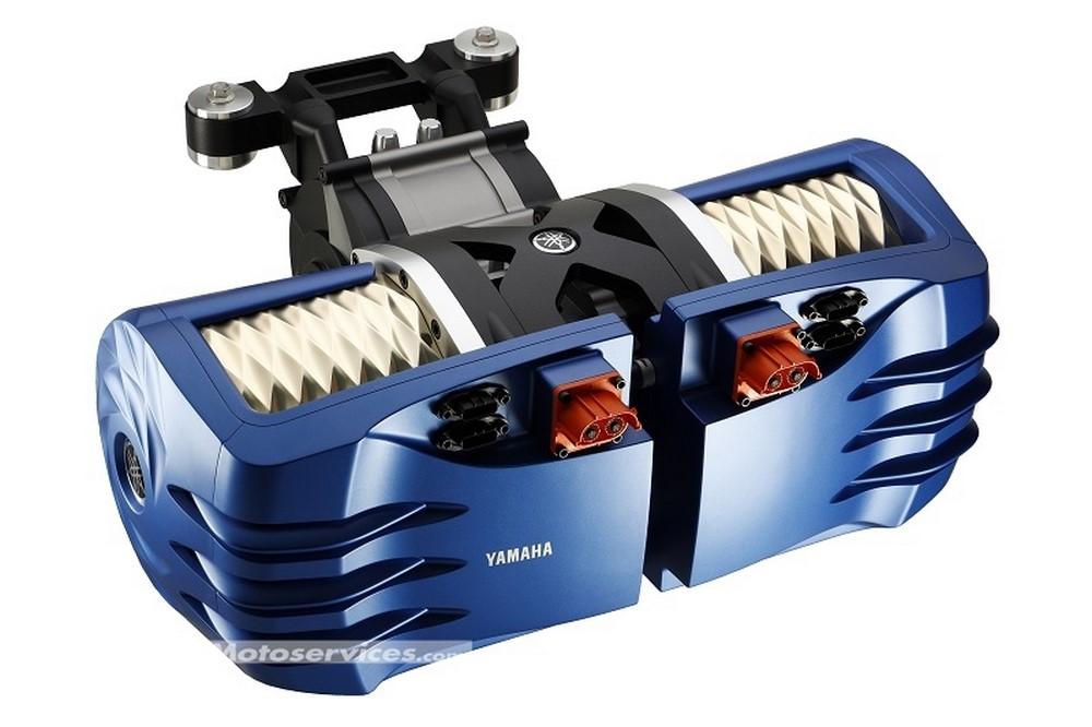 Yamaha développe un moteur électrique