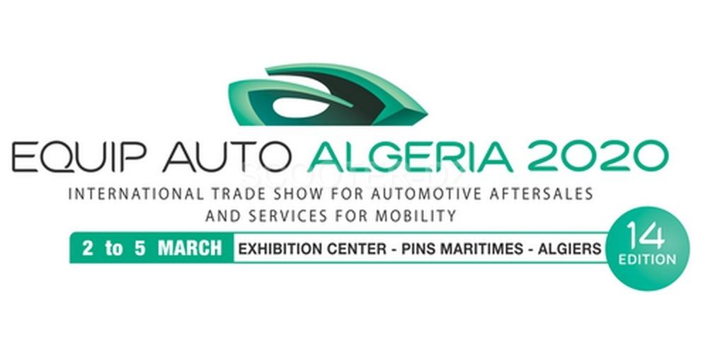 14ème édition d'EQUIP AUTO ALGERIA du lundi 02 au jeudi 05 mars 2020