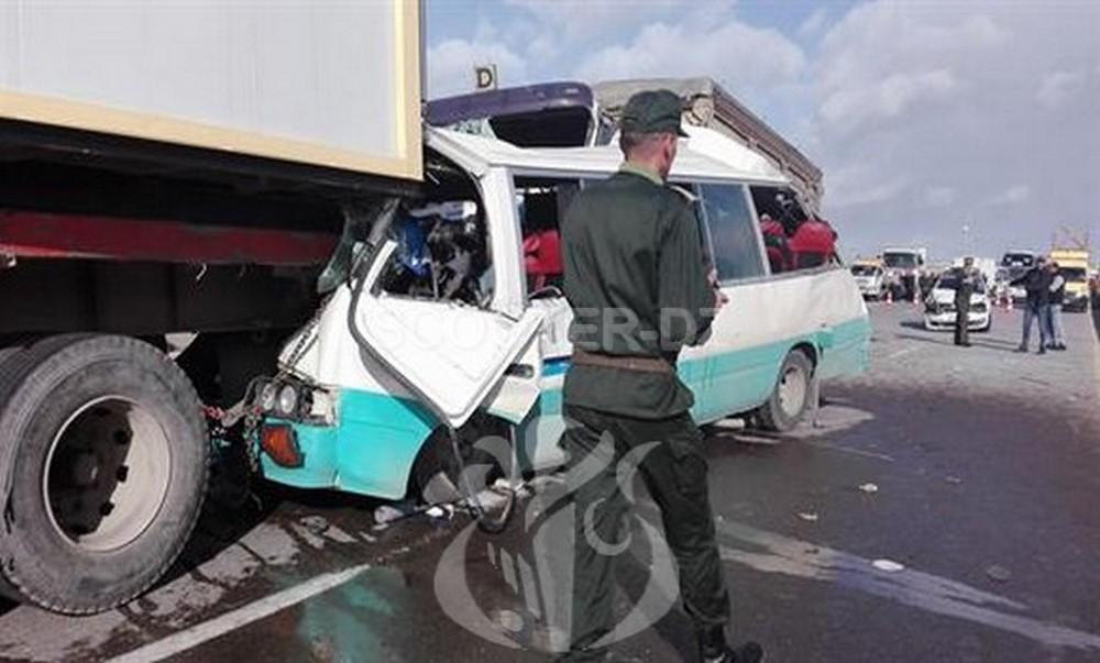 Accidents de la route : près de 2.600 morts et 11.859 blessés