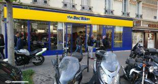 Doc Biker assure l'entretien des motos des pros de santé