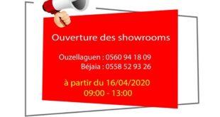 VMS Industrie ré-ouvre ses points de vente de Bejaïa et Ouzellaguen