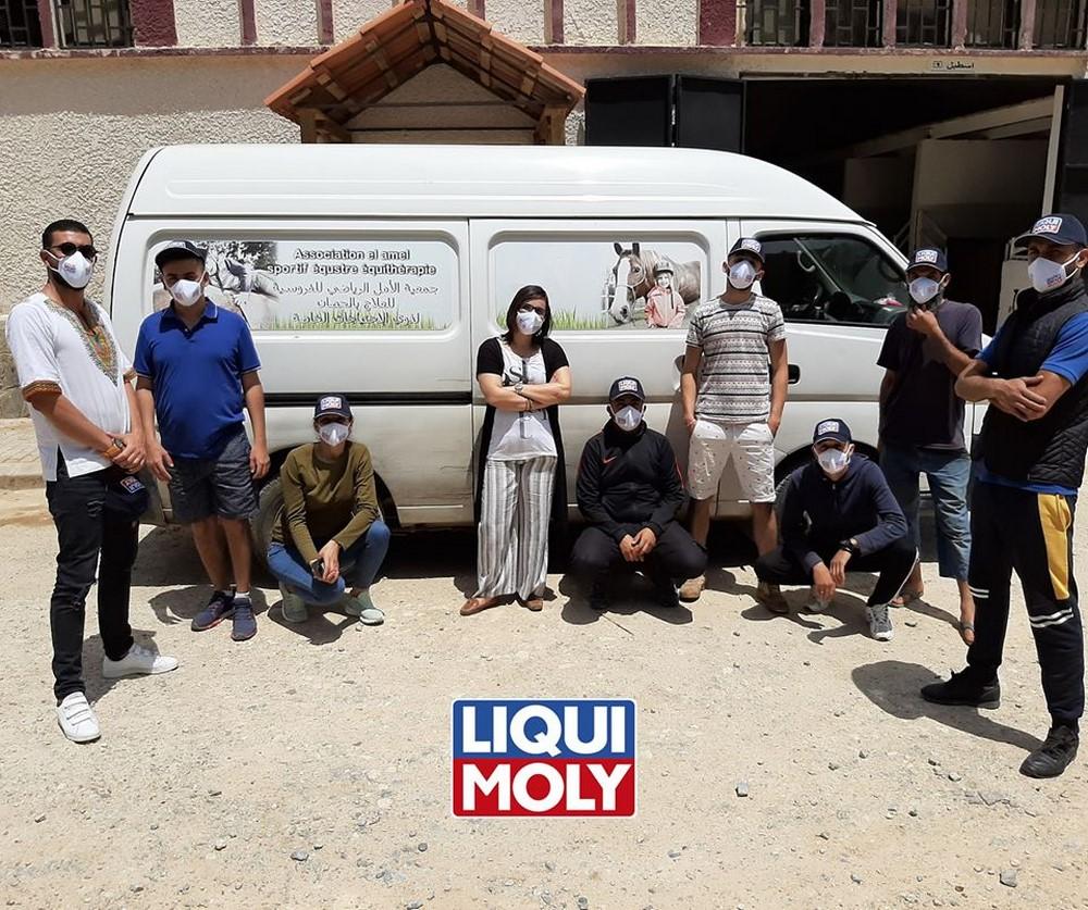 Liqui Moly Algérie : confection et distribution de 4.000 masques de protection