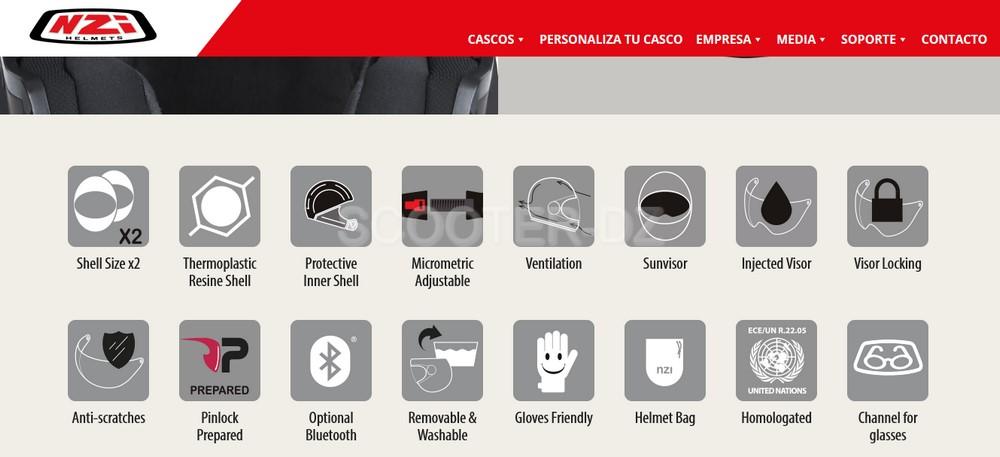 Idée Shopping : NZI Combi 2 Duo, le casque modulable !