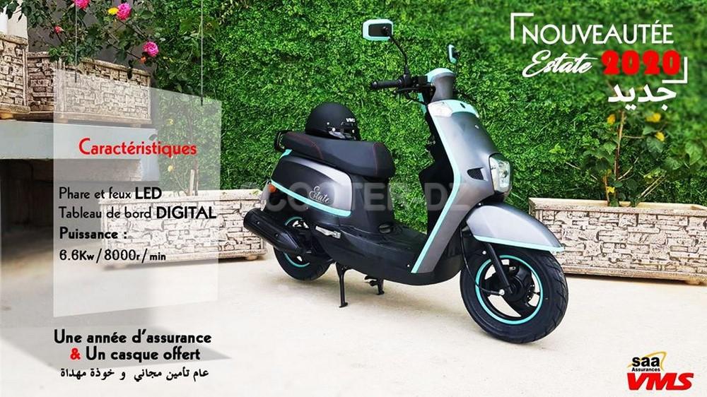 VMS Industrie : sortie du nouveau scooter VMS ESTATE