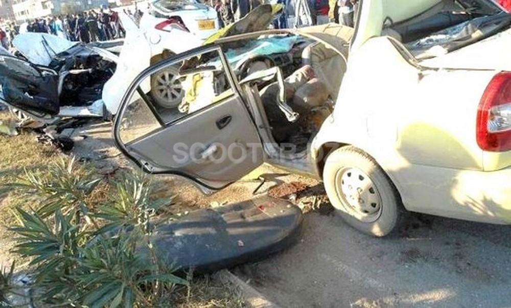 Accidents de la route : 10 morts et 273 blessés en une semaine dans les zones urbaines