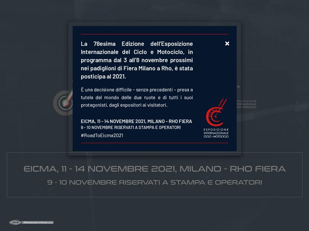 Salon Eicma de Milan 2020 annulé, rendez-vous en 2021