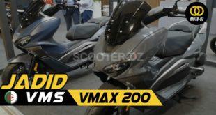 VMS VMAX 200 CBS [Vidéo] : Walkaround Salon EICMA 2019