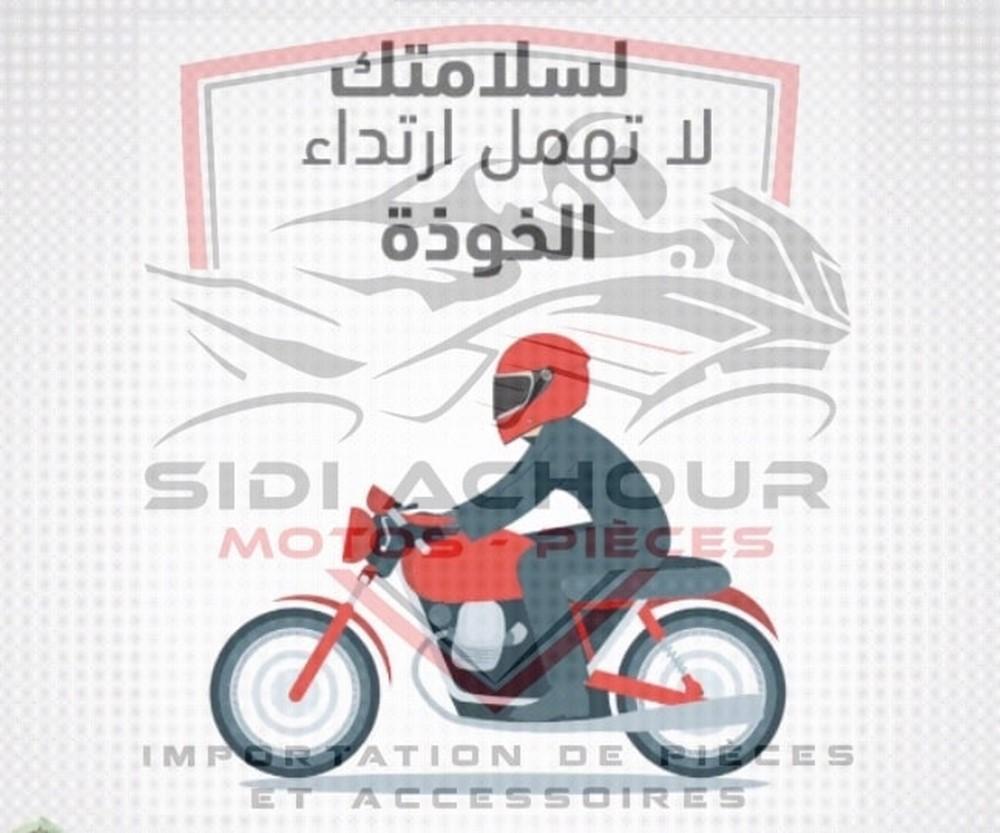 Port du casque : Sidi Achour Motos Pièces lance une opération spéciale !