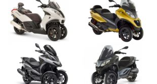 Marché scooter 3-roues 2020