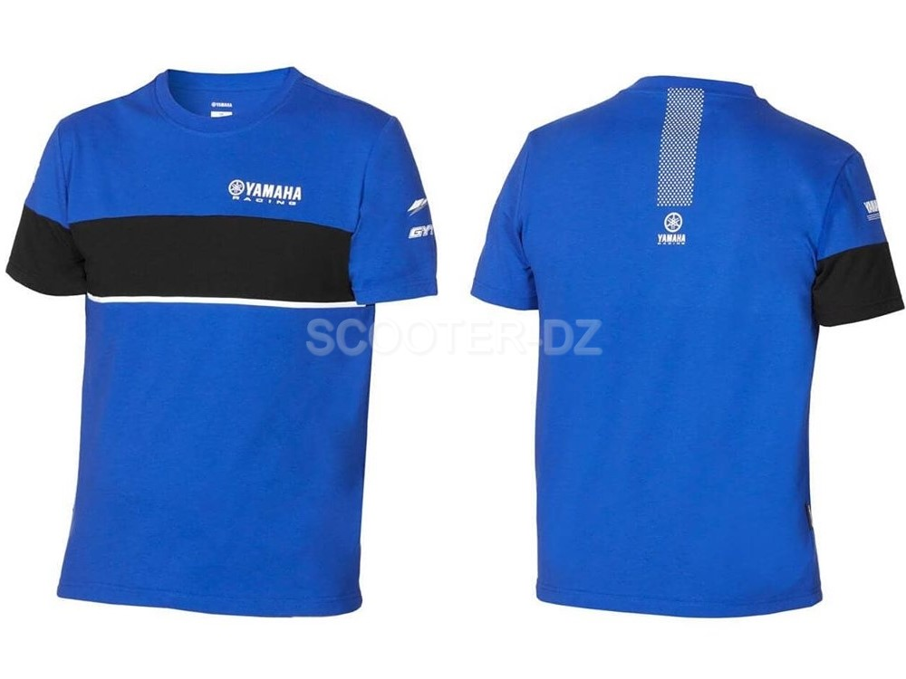 "Idée Shopping : T-shirt à manches courtes Yamaha ""Paddock Blue Collection"""