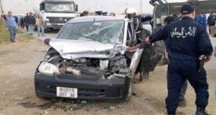 Accident de la route : 23 morts et 1311 blessés en une semaine