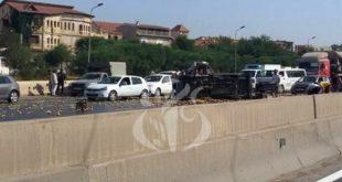 Accidents de la route : 11 morts et 313 blessés en une semaine