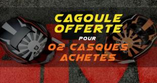 """SHARK Algérie : une cagoule offerte à l'achat de 02 casques """"STREET DRAK"""""""